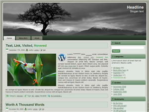 Trial and Error WordPress theme